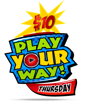GameTime Play Your Way Thursday Night Promotion in Miami, Tampa, Fort Myers, Vero Beach, Sebring, Mary Esther, Panama City