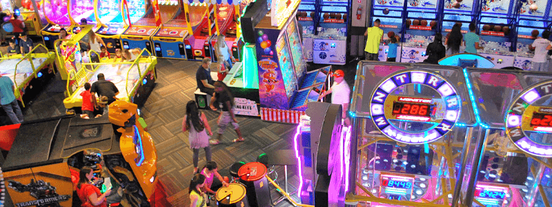 Time Miami Mega Arcade Restaurant Sports Bar Birthday Party Venue