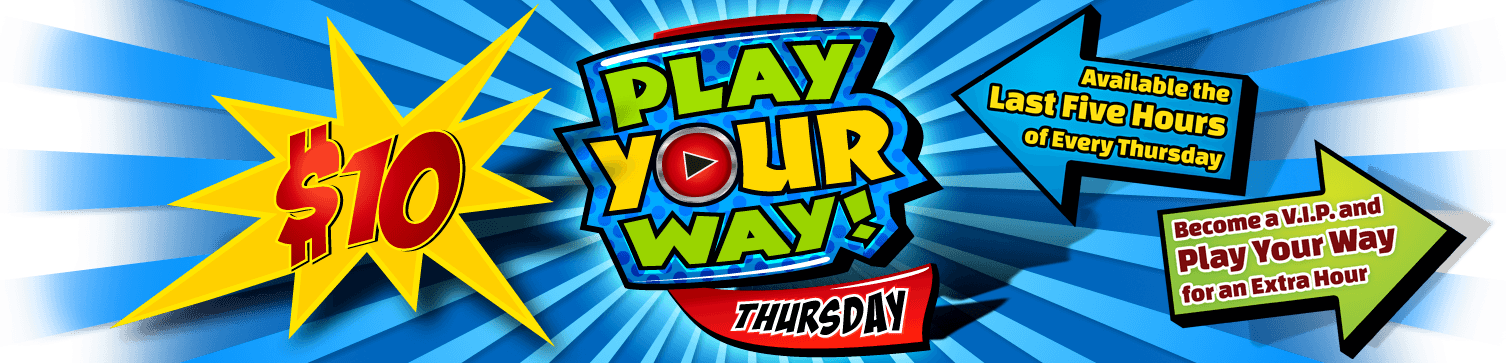 GameTime's Play Your Way promotion