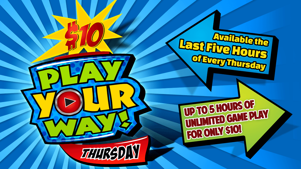 GameTime Play Your Way Promotion