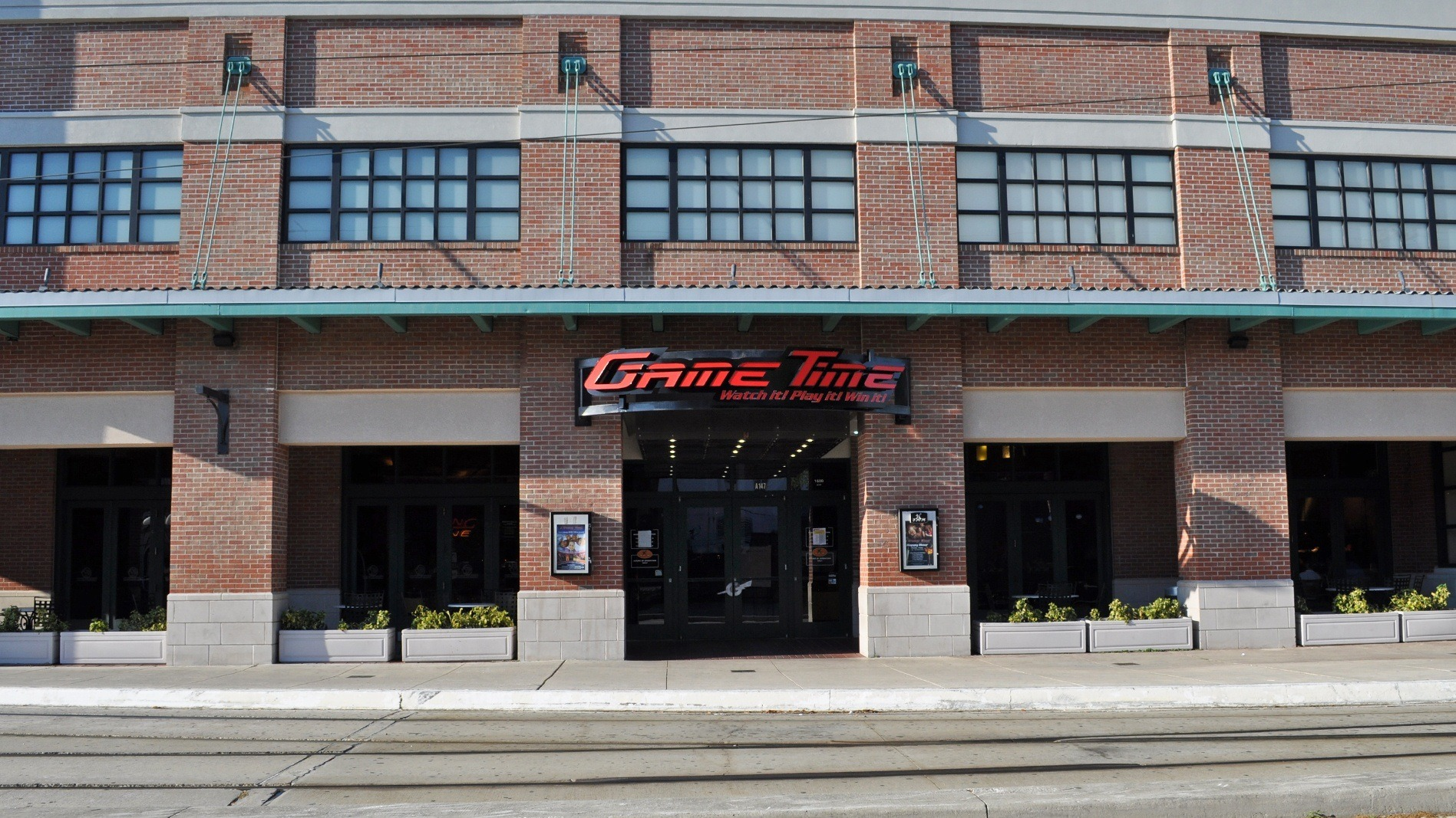 GameTime Tampa Ybor City Centro Ybor full entrance view