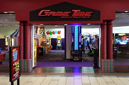Play Your Way at GameTime - Mary Esther, located in the Santa Rosa Mall. A video game arcade with attractions and prizes for all ages.