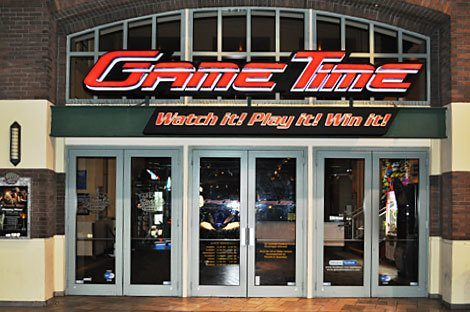 Play and Eat better at GameTime - Miami, located in Shops at Sunset Place Mall. Play in the video game arcade for all ages. Share a meal together in the family restaurant. Watch the game and enjoy a drink at the sports bar.