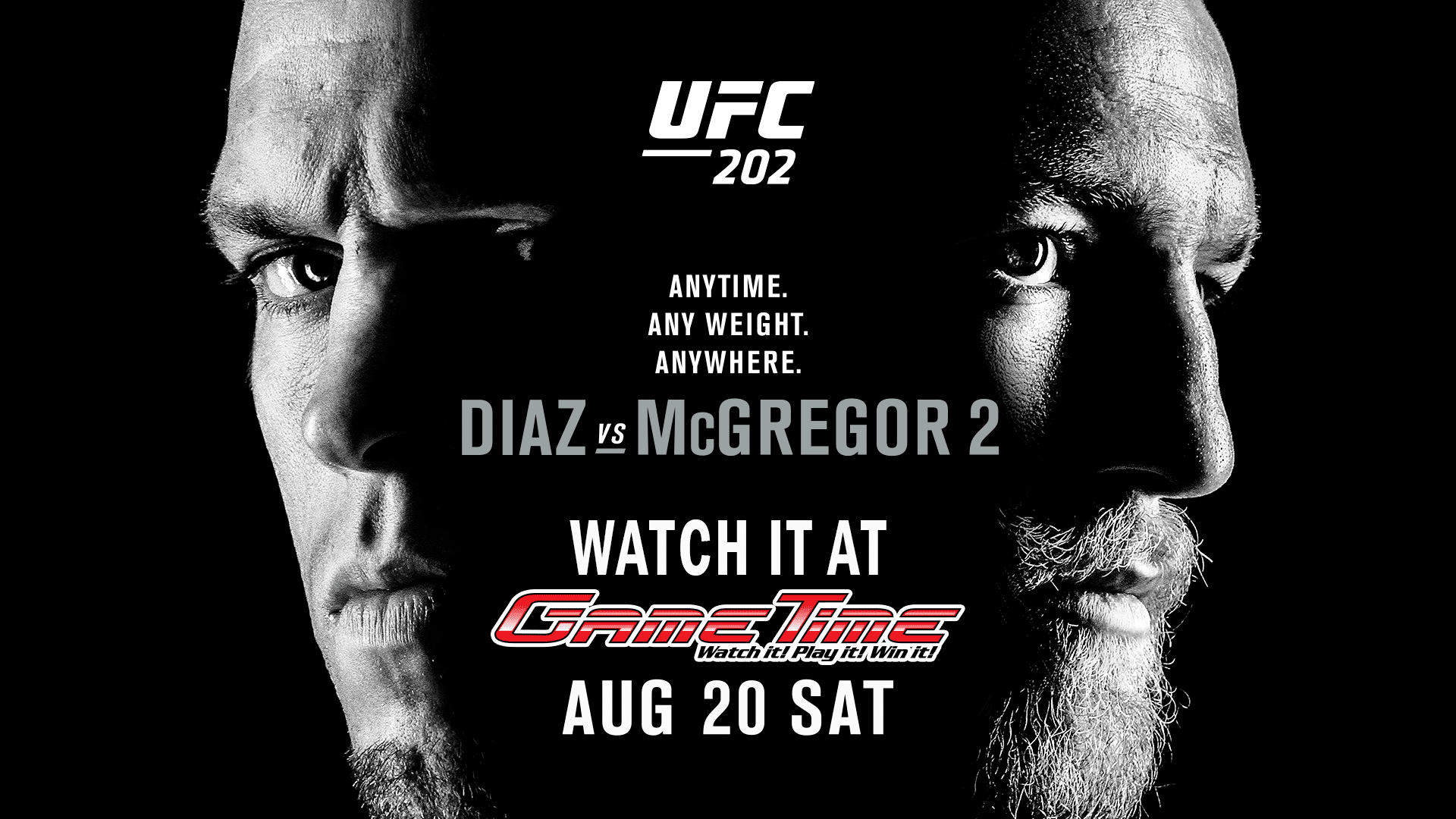 Watch-UFC-Diaz-vs-McGregor-2-August-2016-at-GameTime-Miami-Tampa-Fort-Myers