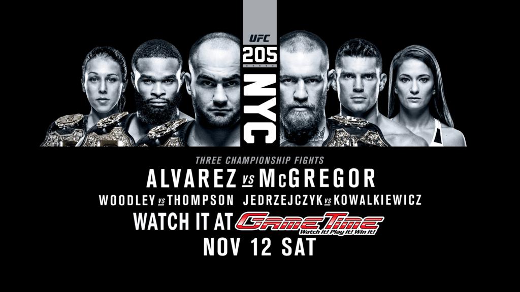 Watch-UFC-in-Miami-Tampa-Fort-Myers-UFC-205-Alvarez-vs-McGregor NYC MSG