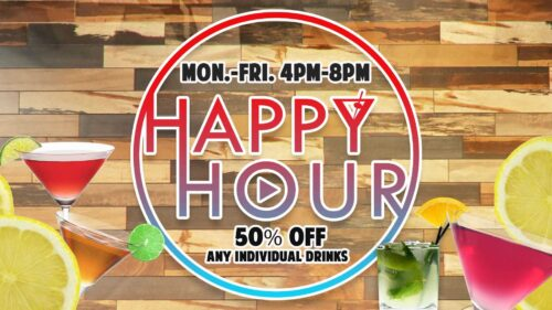 Best Happy Hour in Miami Tampa or Fort Myers at GameTime Entertainment Center Restaurant Sports Bar