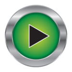 GameTime arcade green play button logo
