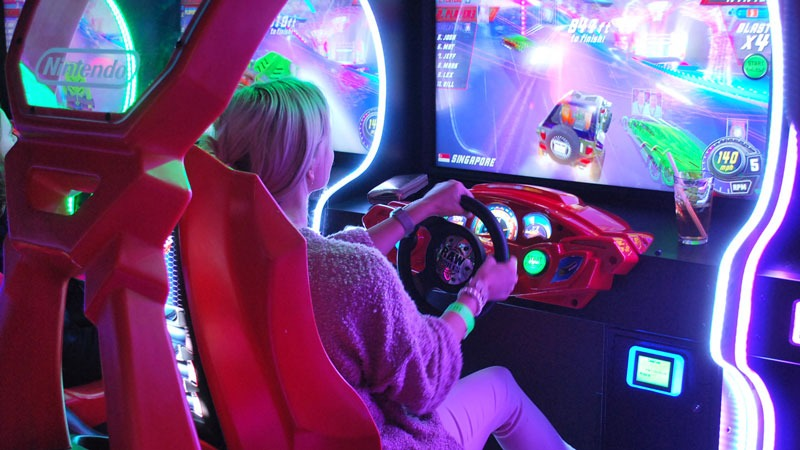 GameTime Arcade Crusin Blast racing game